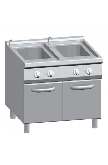 Cuiseur à pâte 2 X 40 litres 900 mm