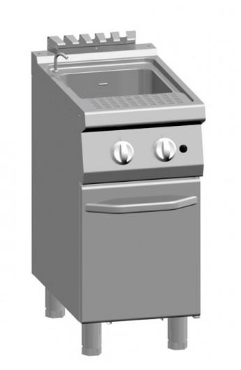 Cuiseur à pâte gaz 24 litres 700 mm