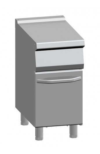 Element neutre avec placard 400 x 700 mm