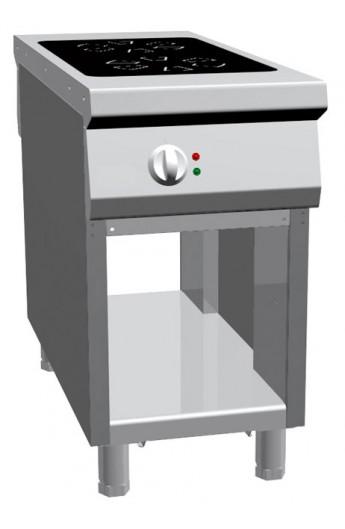 Fourneau induction central 2 plaques 1100 mm