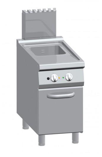 Friteuse gaz 20 litres 900 mm