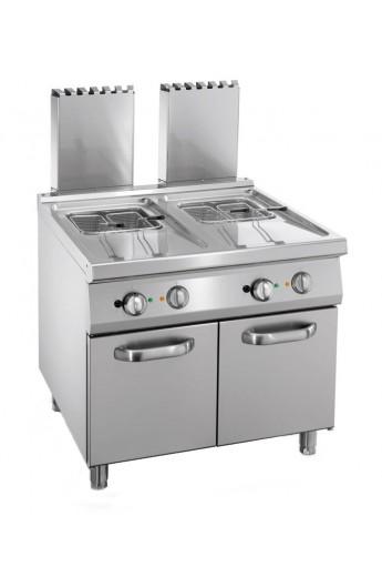 Friteuse gaz 2 x 20 litres 900 mm
