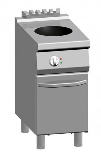 Wok à induction avec placard 700 mm
