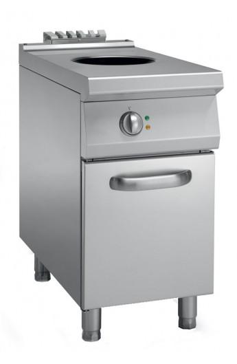 Wok à induction avec placard 900 mm