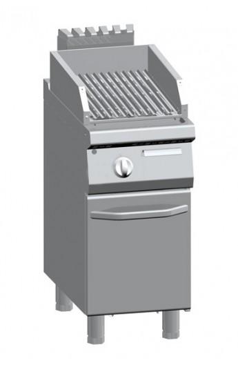Gril lavique pour viande + placard 400 x 700 mm