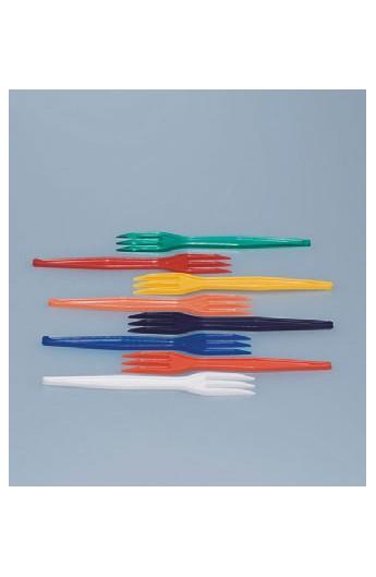 Fourchette plastique à piquer les frites (15000)