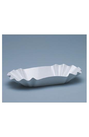 Moyenne barquette blanche pour frite (1000)