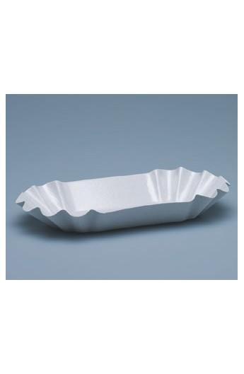 Grande barquette blanche pour frite (1000)