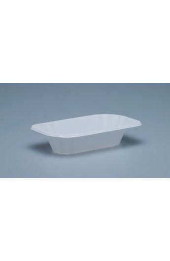 Plat blanc à frites 300 g. (2000)