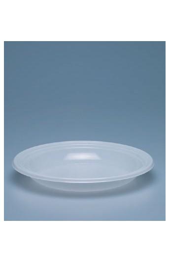 Assiette blanche creuse 220 x 220 mm (800)