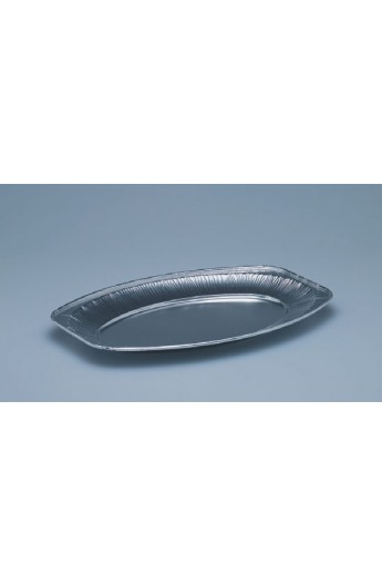 Plat ovale en aluminium 240 x 350 mm (100)