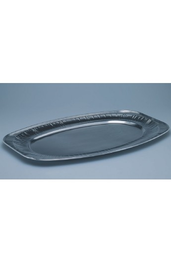 Plat ovale en aluminium 360 x 550 mm (60)