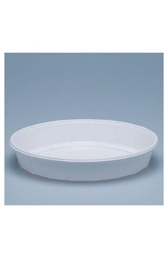 Plat à salade blanc Ø 180 mm (500)
