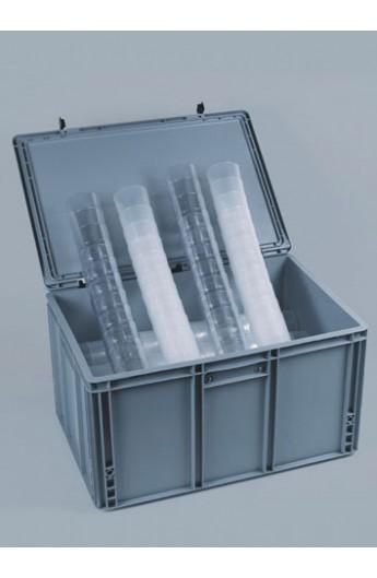 Box avec verre réutilisable 3 Dl (220)