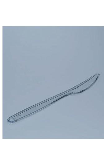 Couteau plastique transparent (1000)