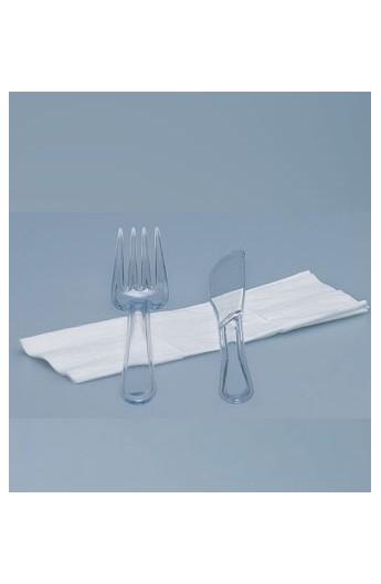 Set de couvert transparent 3 pièces (250)