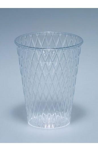 Verre cristal strié 2 dl (1000)