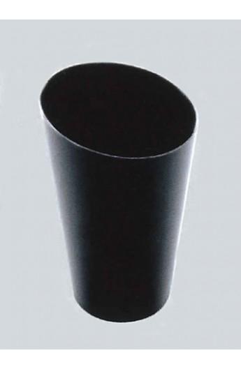 Gobelet noir pour verrine 70 cc (500)