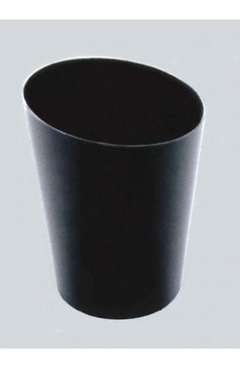 Gobelet noir pour verrine 120 cc (500)