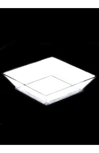 Verrine carrée transparente 45 cc (700)
