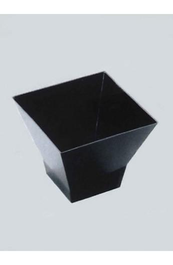 Verrine carrée noire 65 cc (500)