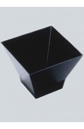 Verrine carrée noire 200 cc (240)