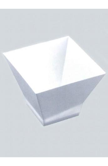Verrine carrée blanche 200 cc (240)