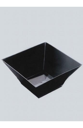 Verrine carrée noire 500 cc (120)