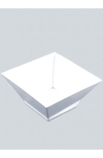 Verrine carrée blanche 500 cc (120)
