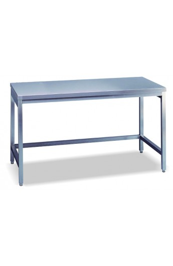 Table de travail 2000 mm (sans rayon de base et sans dosseret)