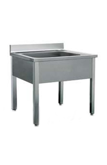 Bloc évier 1 vasque 1400 mm