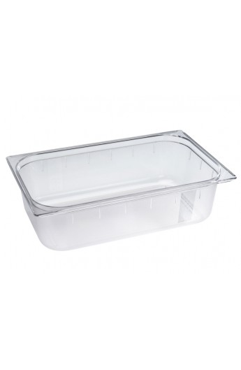 Bac Gastronorm Polycarbonate GN 1/1 100 mm
