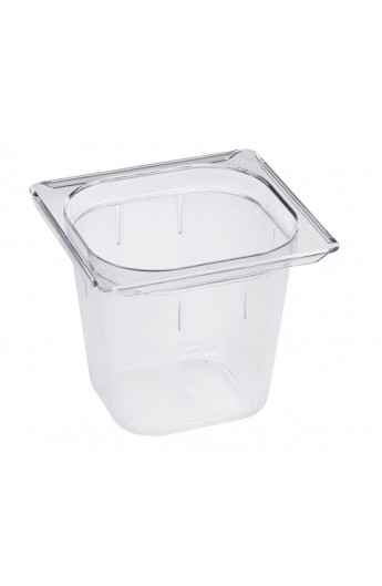 Bac Gastronorm Polycarbonate GN 1/6 150 mm