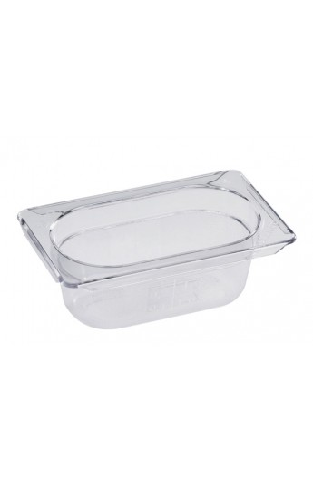 Bac Gastronorm Polycarbonate GN 1/9 65 mm