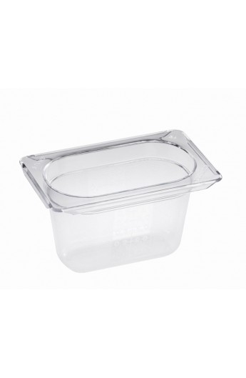 Bac Gastronorm Polycarbonate GN 1/6 100 mm