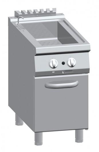 Bain-marie gaz avec placard 900 mm